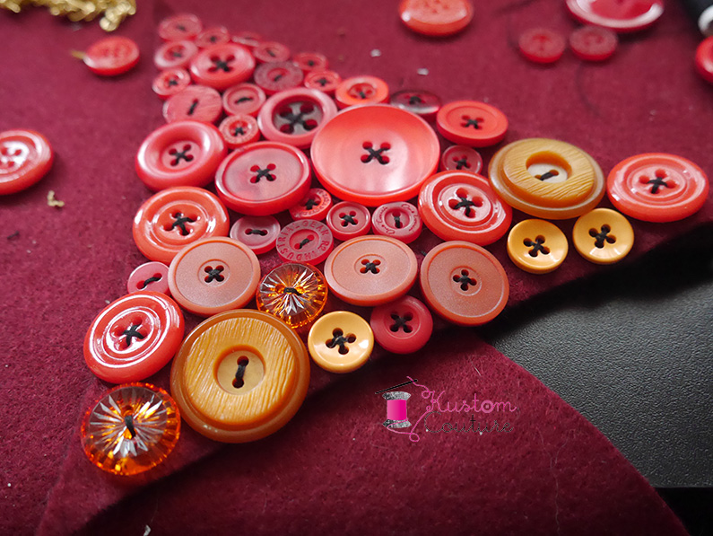 DIY Collier avec boutons | Kustom Couture