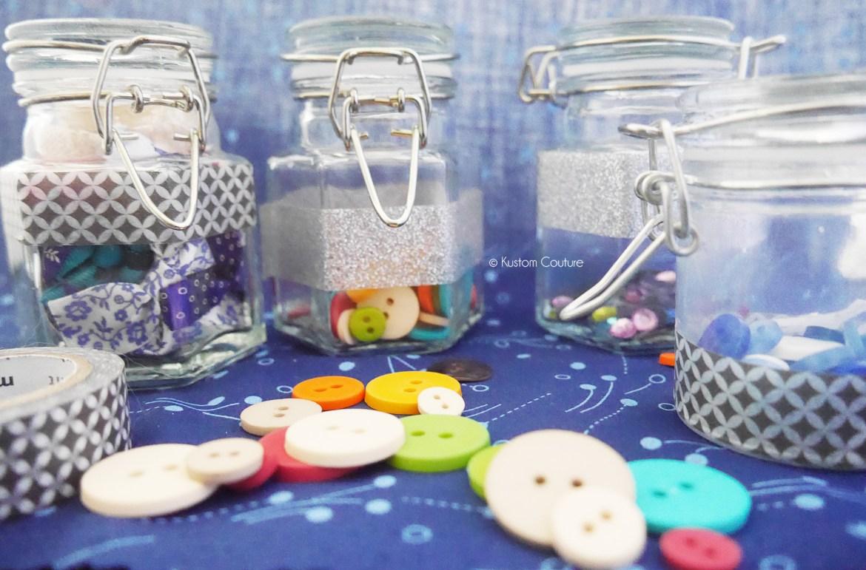 Customisation de pots en verre | Kustom Couture