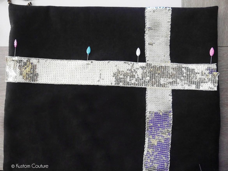 Comment customiser un coussin avec un ruban | Kustom Couture