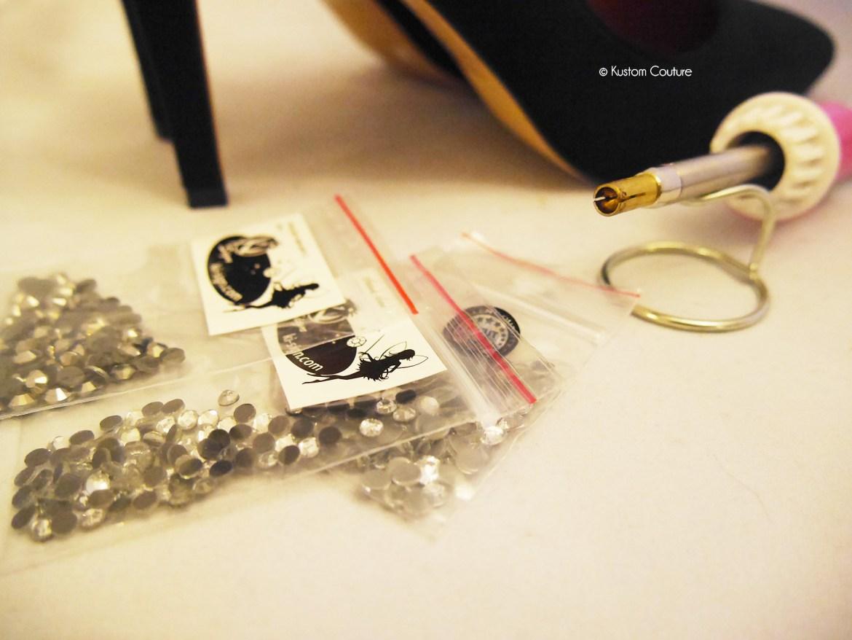 Comment customiser des chaussures à talons | Kustom Couture