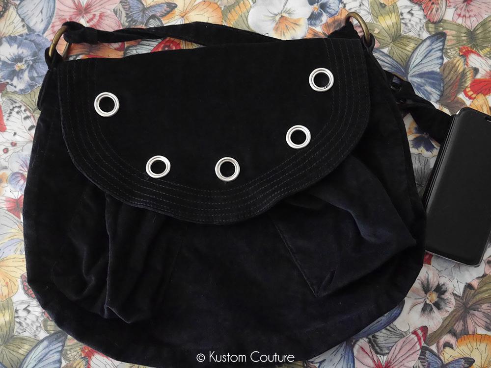 Customiser un sac avec des oeillets   Kustom Couture