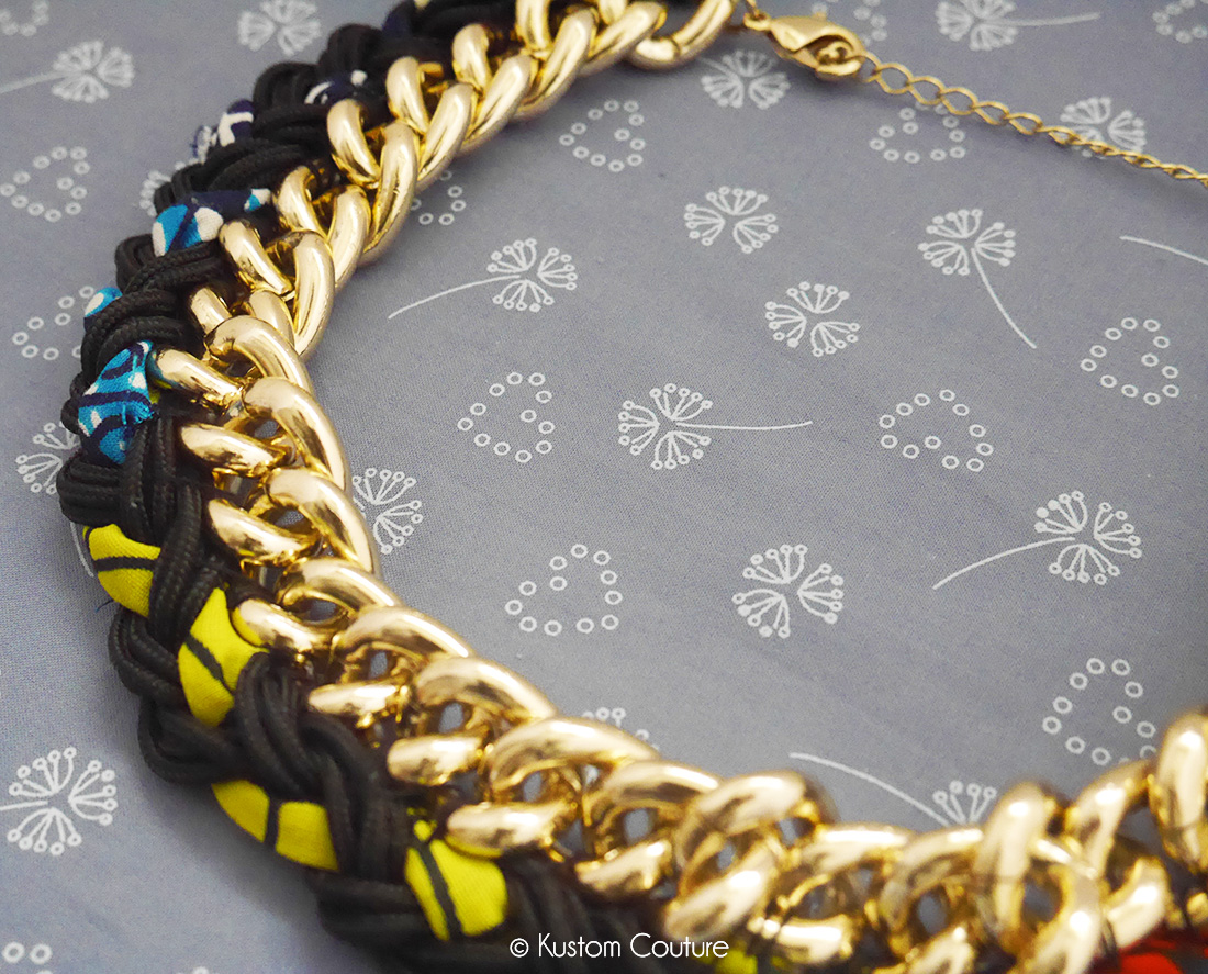 DIY Collier XXL Wax | Kustom Couture