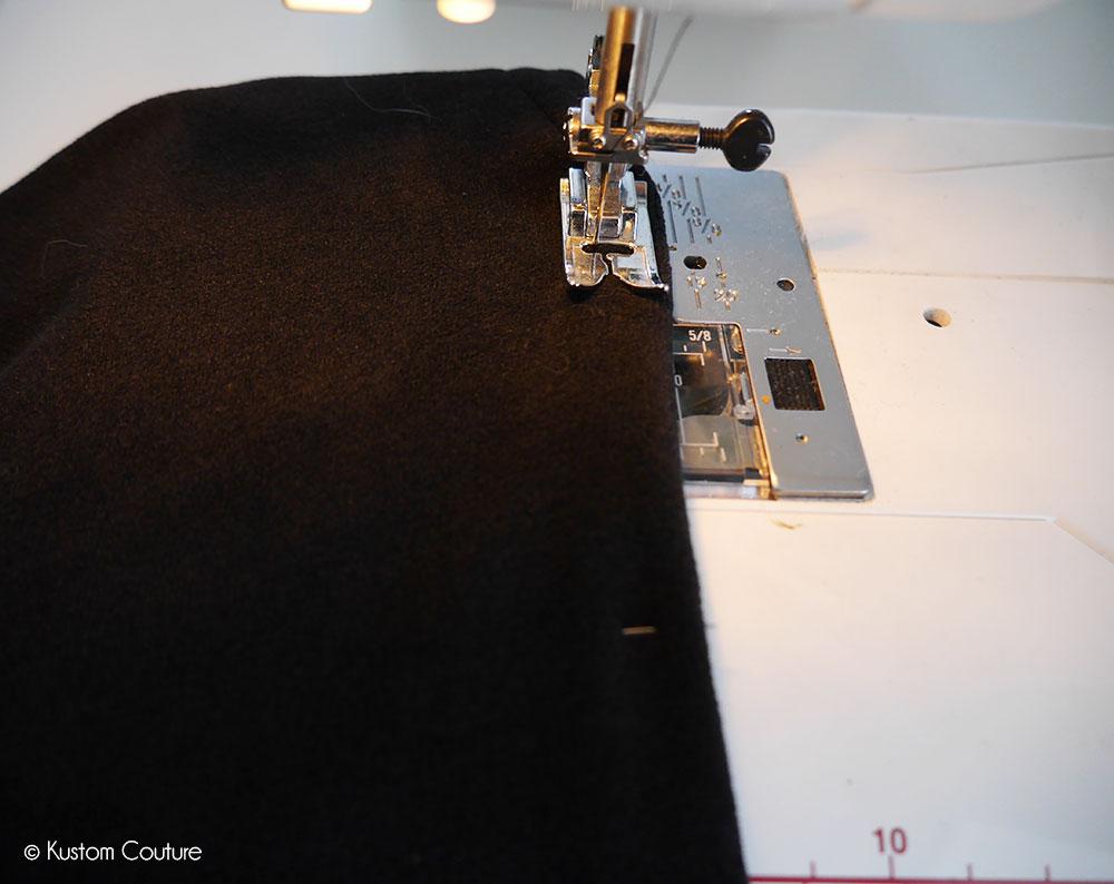 Customisation d'un pull en gilet de printemps | Kustom Couture