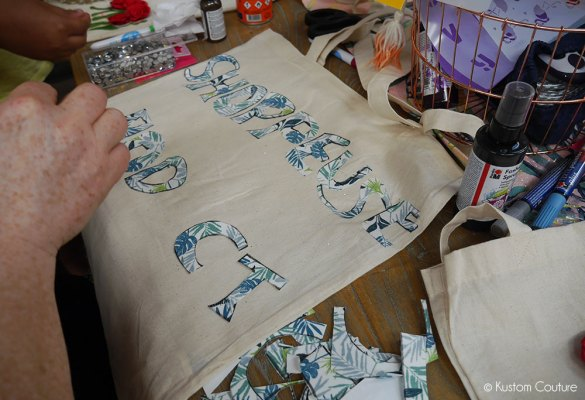 Atelier DIY - Customisation de tote-bags | Kustom Couture