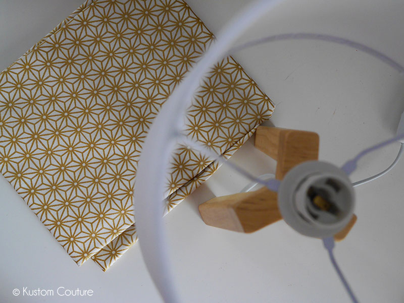 Customisation d'une lampe scandinave | Kustom Couture