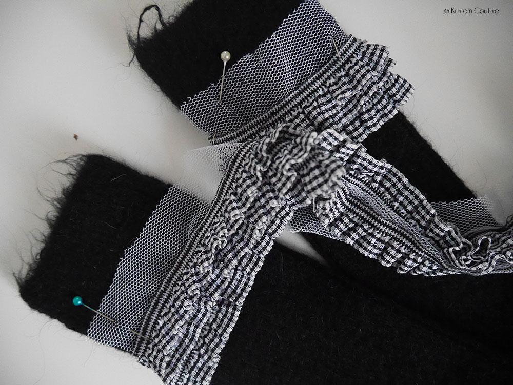 Customisation de chaussettes avec du ruban | Kustom Couture