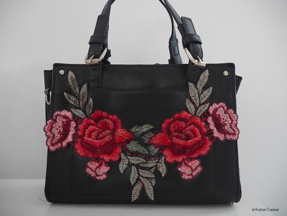 Gut gemocht DIY mode - Customiser un sac avec de la broderie | Kustom Couture QA06