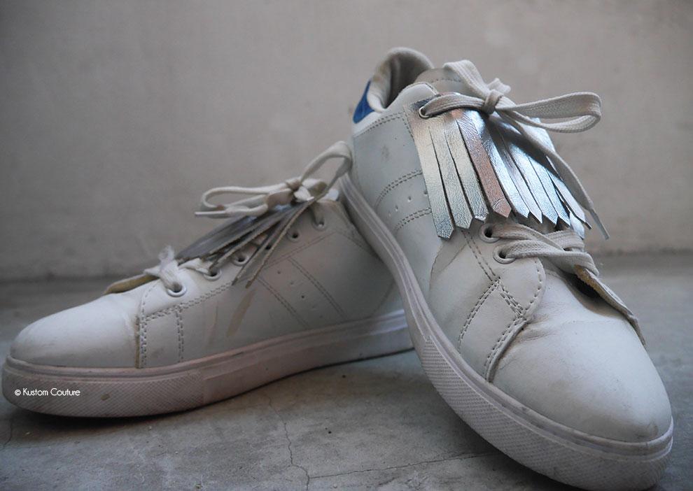 DIY caches lacets à franges | Kustom Couture