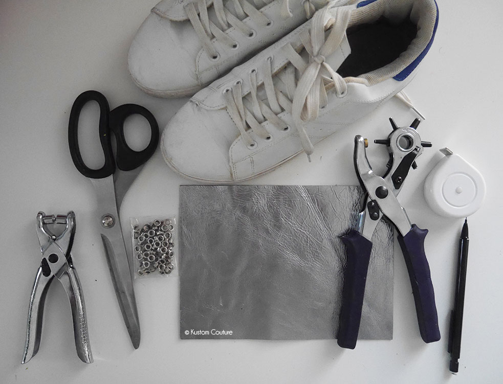 DIY caches lacets à franges   Kustom Couture