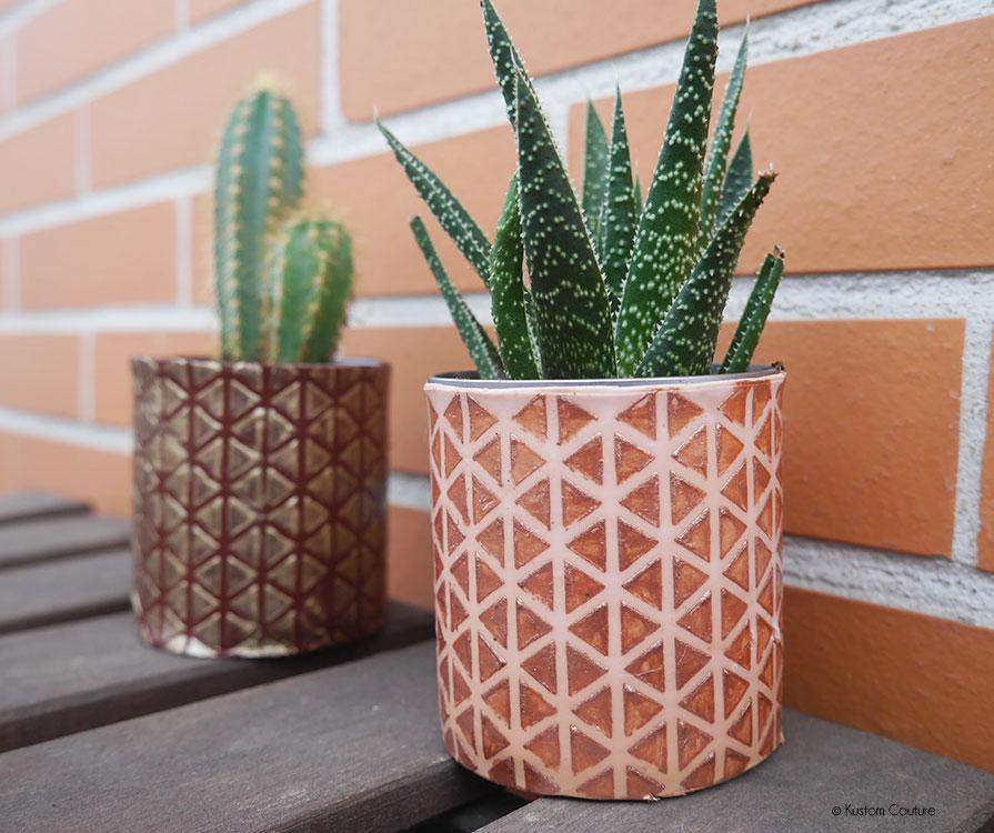 DIY pots fleurs en pate fimo | Kustom Couture