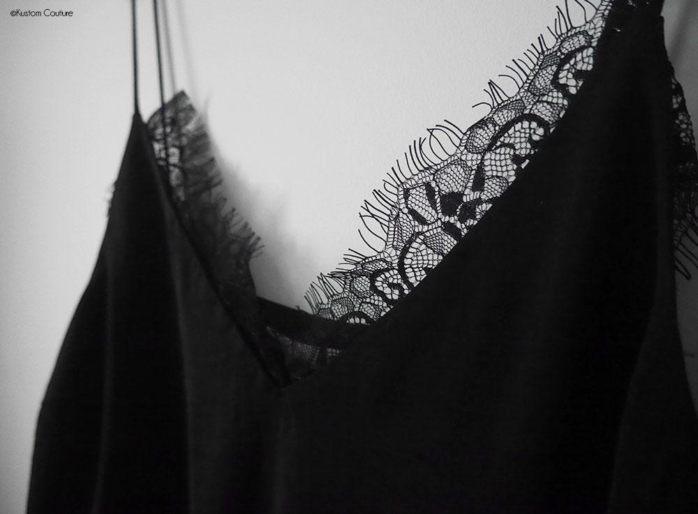 Customiser un caraco avec de la dentelle | Kustom Couture