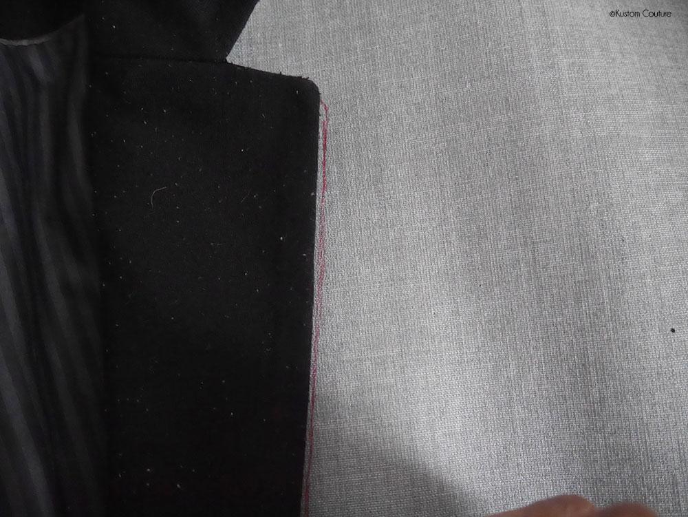 Customiser une veste noire avec des paillettes pour les fêtes | Kustom Couture