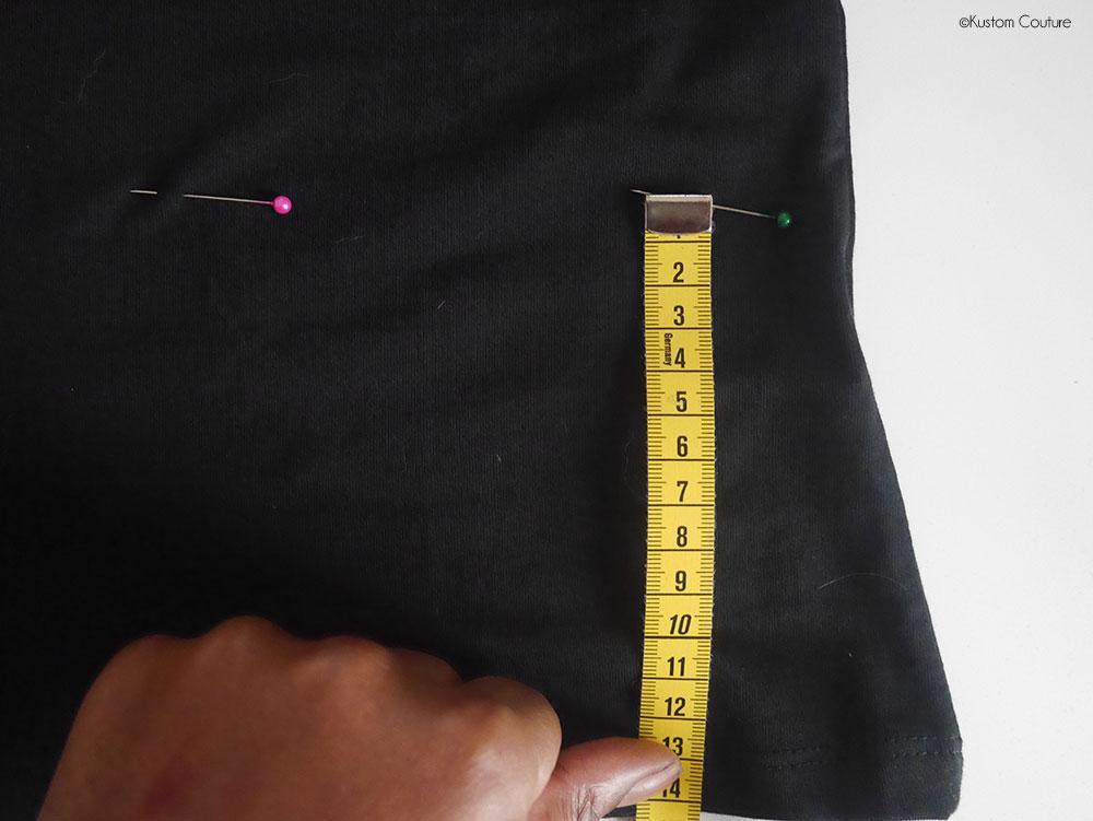 Customiser un haut basique en haut péplum pour les fêtes | Kustom Couture