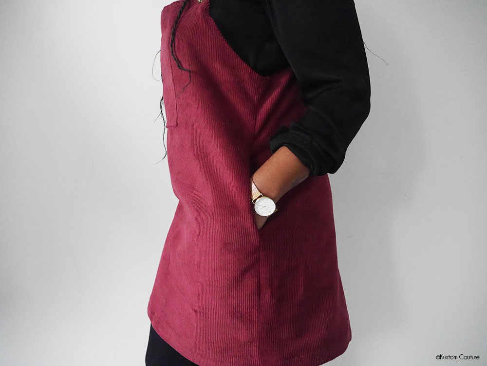 Coudre une robe salopette | Kustom Couture