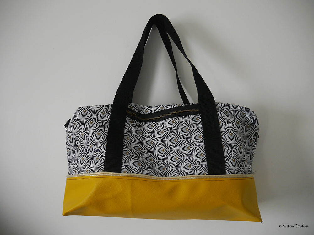Coudre un sac de sport ou de week-end | Kustom Couture