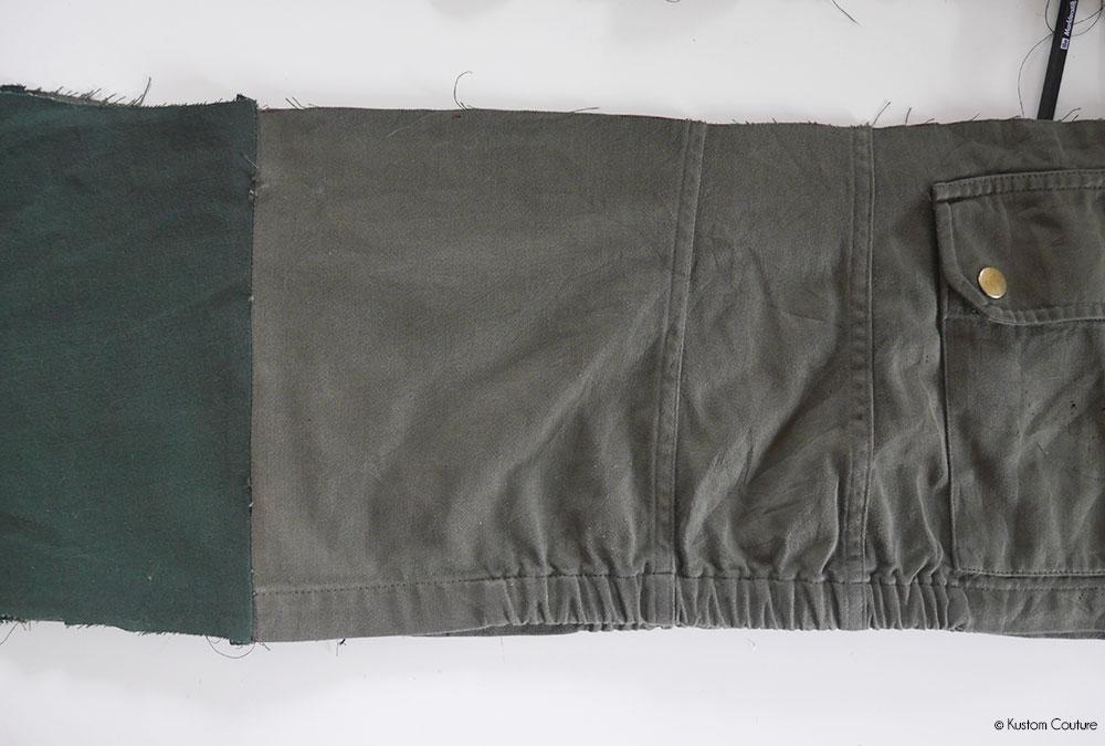 Customiser une veste militaire | Kustom Couture