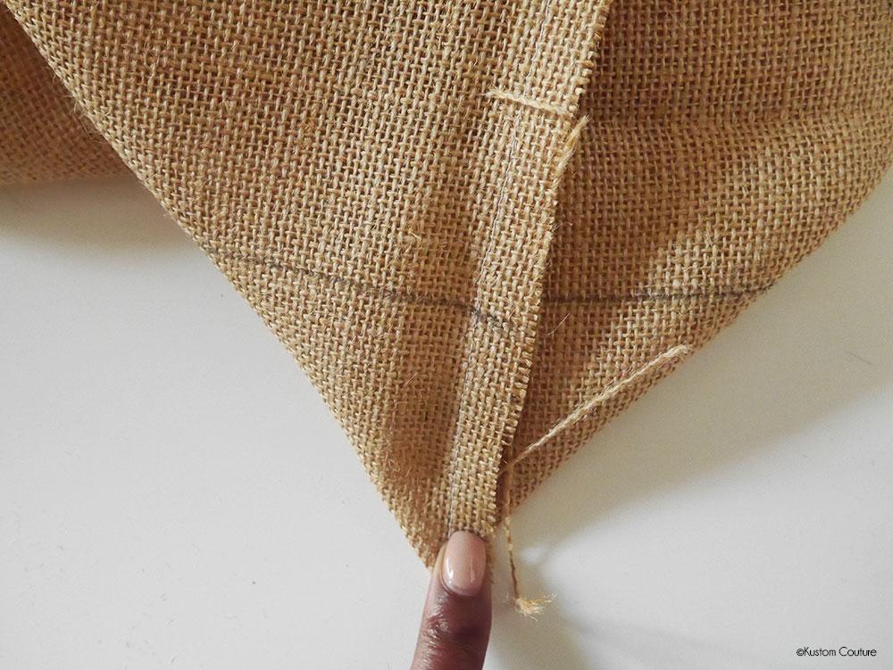 Coudre un sac de plage sans patron | Kustom Couture