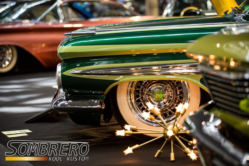 Wire Wheels, 1959 Chevrolet Parkwood, Airride, Wide Whites, Atomic Lamp