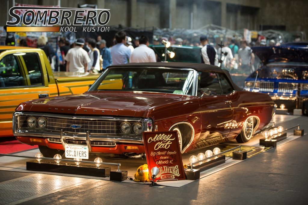 1969 Chevrolet Impala Convertible, Alley Cat, Soldiers Car Club