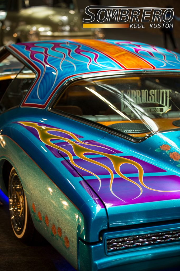 1973 Buick Riviera, Lowrider, Flames Paint