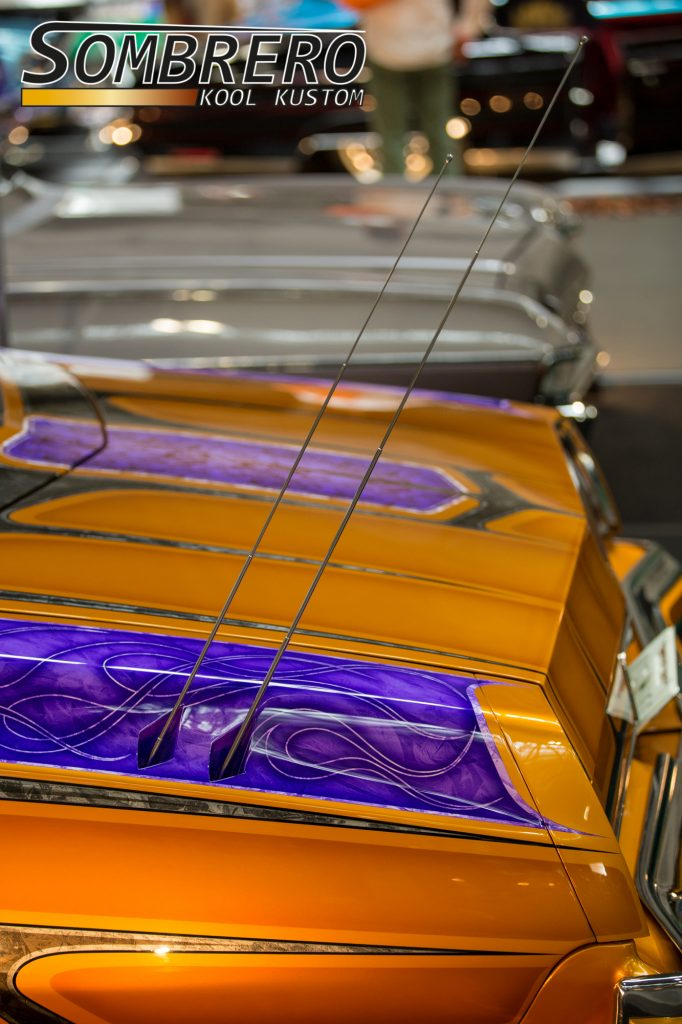 1973 Chevrolet Monte Carlo, Lowrider, Primera Car Club, Panel Paint, Frenched Antennas