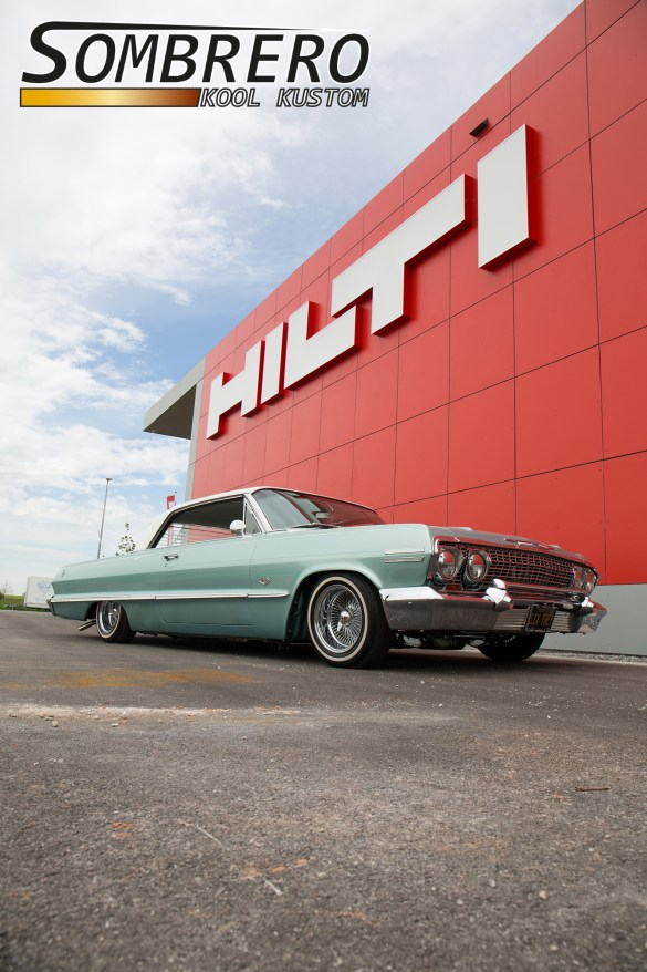 1963 Chevrolet Impala, Frontansicht
