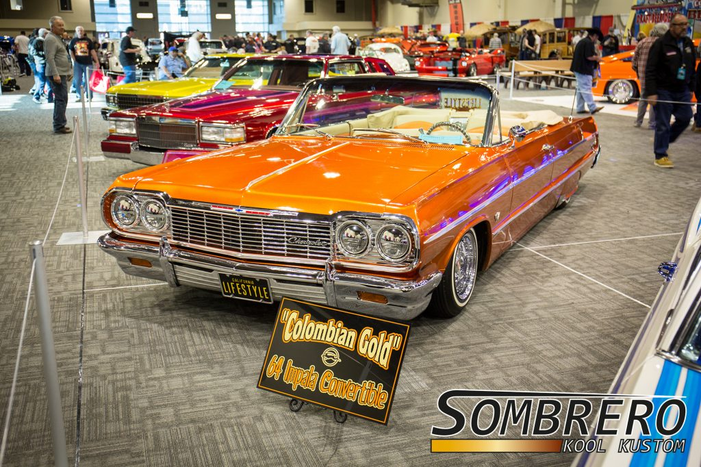 1964 Chevrolet Impala Convertible, Colombian Gold, Lifestyle CC