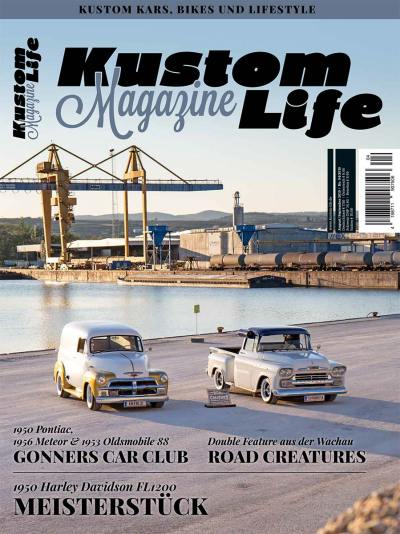 Kustom Life Magazine Ausgabe August/September 2019 Cover
