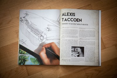 Kustom Life Magazine, Alexis Taccoen Automotive Art