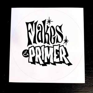 Flakes'n'Primer Logo Sticker