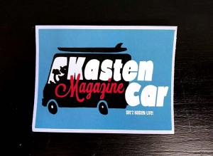 Kasten Car Magazine, Set'z Kasten Life! Sticker, eckig