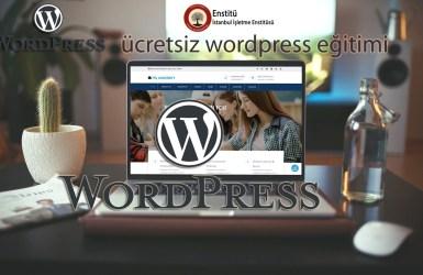 Ücretsiz Wordpress Eğitimi