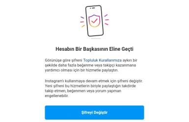 Instagram Hesabın Bir Başkasının Eline Geçti