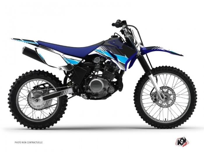 yamaha ttr 125 dirt bike stripe graphic kit black