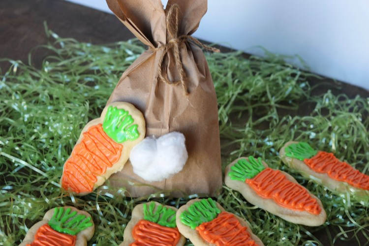 Easter Sugar Cookies and Gift Bag
