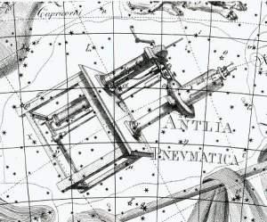 Antlia volgens Johann Bode