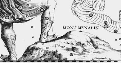 Mons Maenalus - Hevelius
