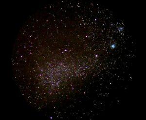 NGC252 - de Kleine Magelhaanse Wolk - in het sterrenbeeld Tucana