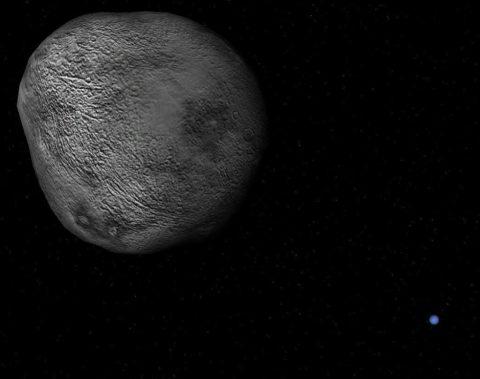 Nereïde is de verste maan van Neptunus.