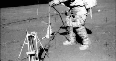 Instrumenten op de Maan
