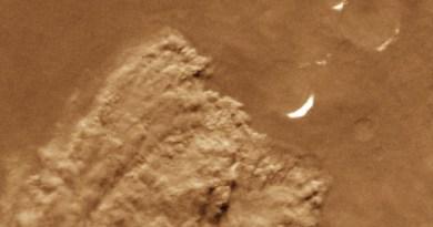 Stofstorm op Mars