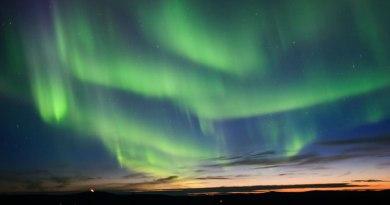 Noorderlicht vanuit Alaska