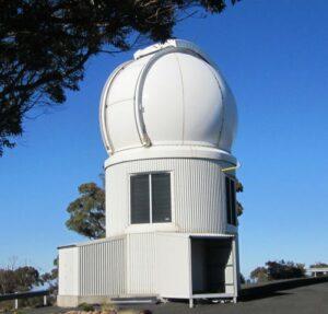 De SkyMapper telescoop