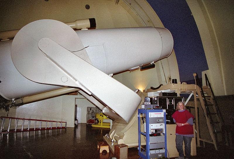 De Samuel oshin telescoop op Mount palomar