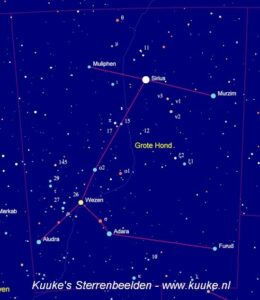Canis Major - Grote Hond