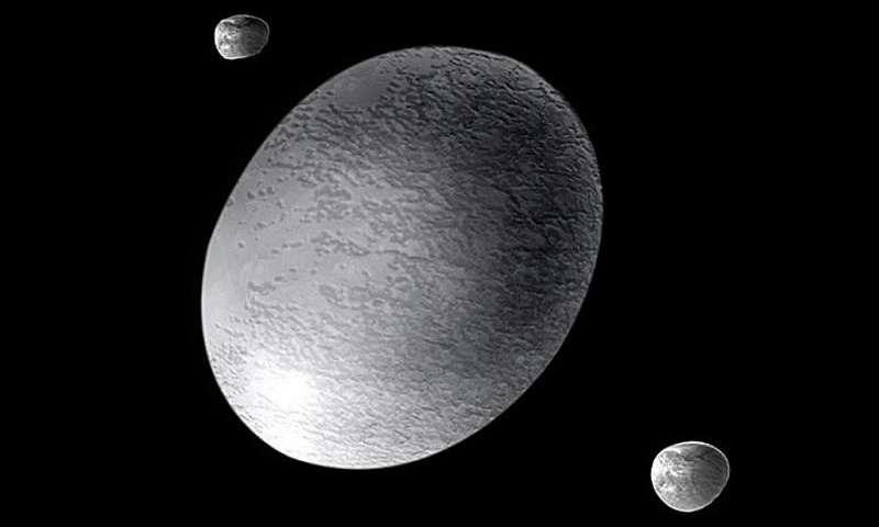 Haumea en zijn manen