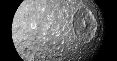 Mimas - maan van Saturnus