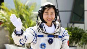 De Chinese astronaute Liu Yang
