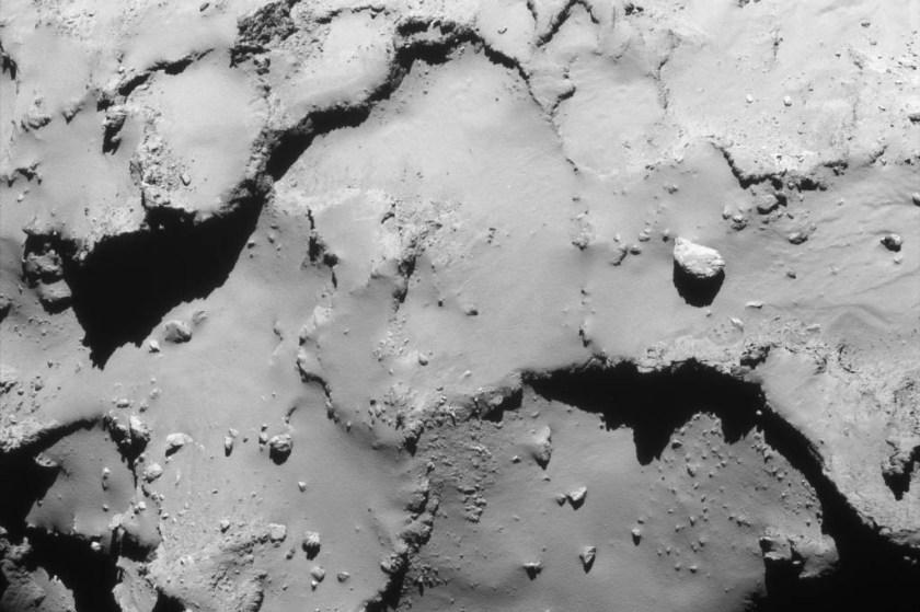 De laatste korscorrectie van Rosetta