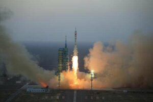 Lancering van de Shenzhou 11